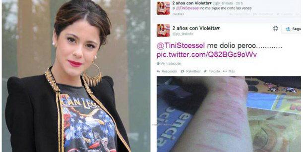 Una Fan De Violetta Se Cort Las Venas Porque La Dola Teen No La Sigui En Twitter Christian Manzanelli Representante Artistico Contrataciones 4740 4843