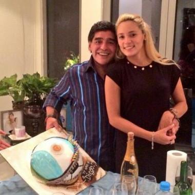 Maradona Presentó Una Medida Cautelar Para Que Rocío Oliva No Vaya A Lo De Mirtha