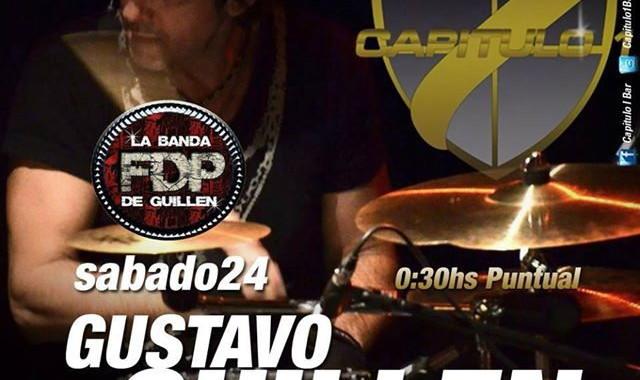 Fuera De Peligro La Banda De Gustavo Guillen Christian Manzanelli Representante Artistico Contrataciones 4740 4843